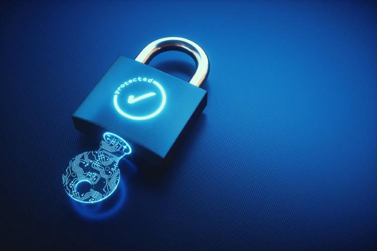 ciberseguridad-candado-llave-azul