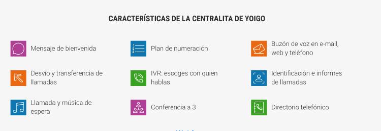 Centralita Virtual Yoigo Pro