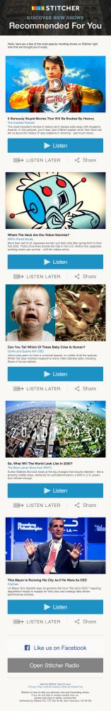 stitcher email marketing
